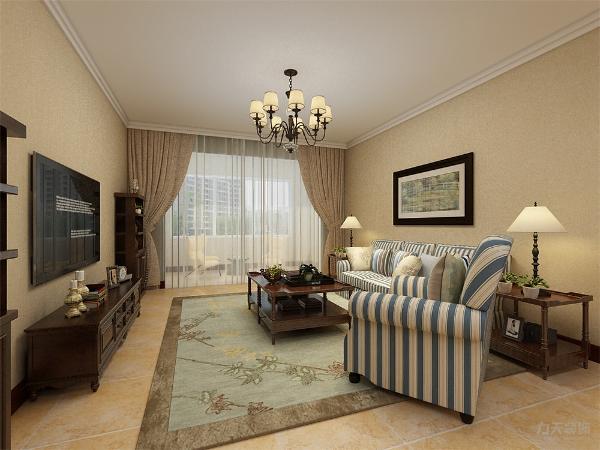客厅沙发背景墙没有过多浮夸的装饰,只有一张装饰画来提升家里的氛围,让家温馨又不沉闷,增加点活力,电视旁边加两个个储物柜,不仅增加家里的储物功能也可以摆上业主喜欢的装饰品,一箭双雕。