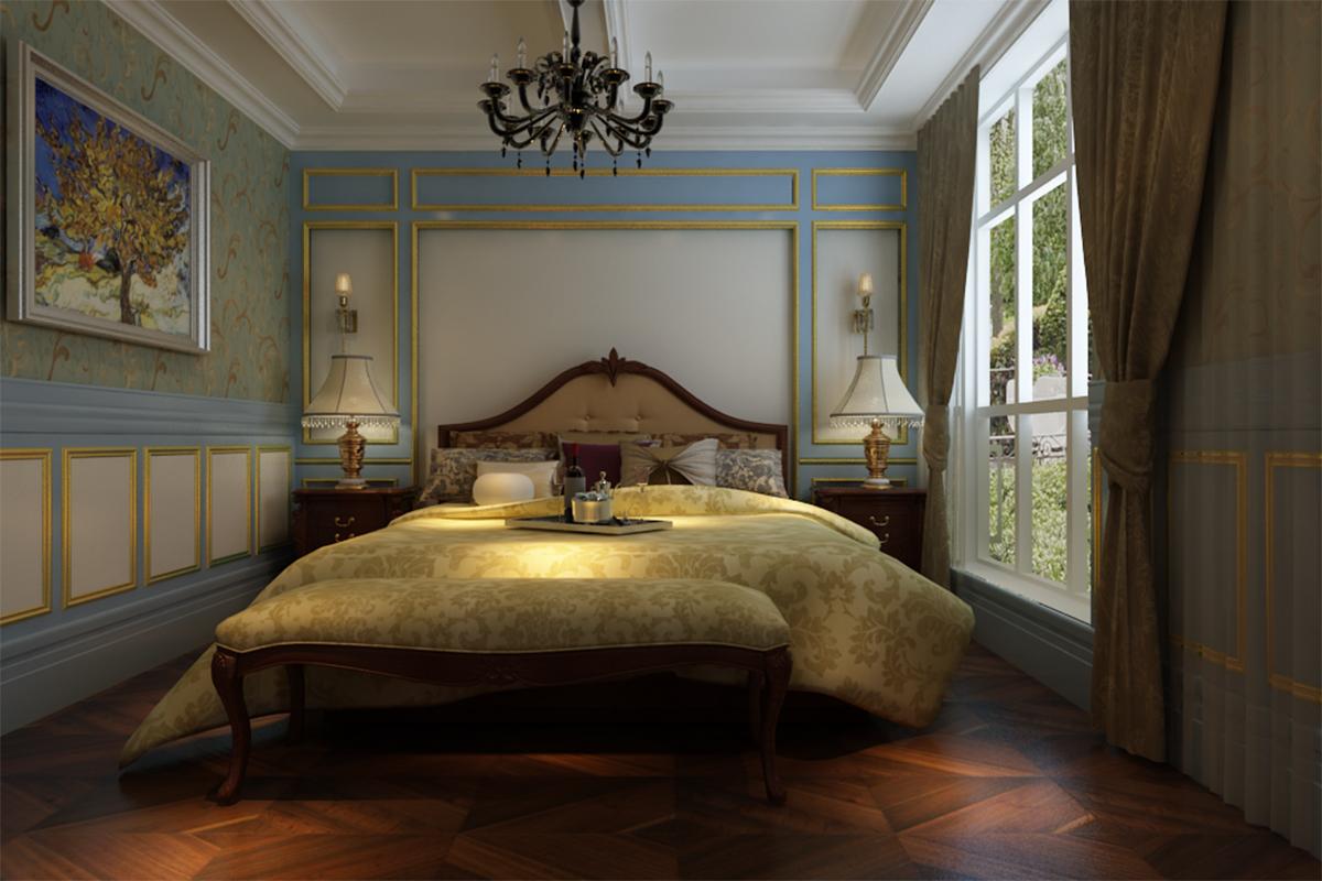 法式 卧室图片来自北京业之峰装饰王宏哲在法式邂逅的分享