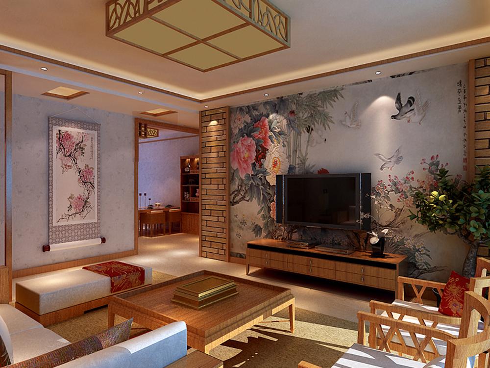 三居 中式 时尚 白领 小资 客厅图片来自tjsczs88在东方情依旧的分享