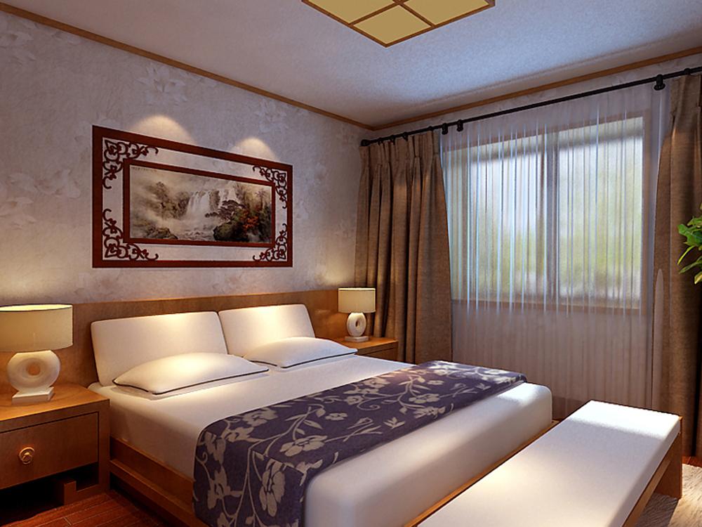 三居 中式 时尚 白领 小资 卧室图片来自tjsczs88在东方情依旧的分享