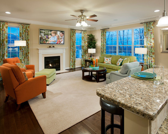 简约 美式 别墅 客厅图片来自别墅设计师杨洋在春之足迹-乡村美式设计风格的分享