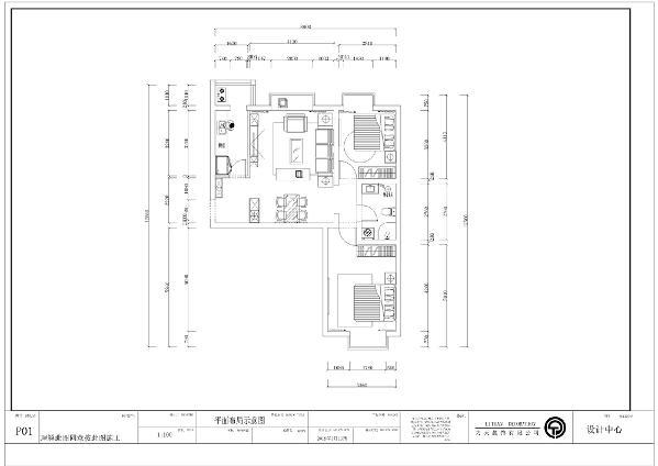 从入户门进入,左面是厨房,面积较小,带有阳台,也合理的进行了利用,紧挨着的是客厅,客厅面积较大还带有飘窗,采光较好,视野开阔,再是次卧面积小,带有小阳台