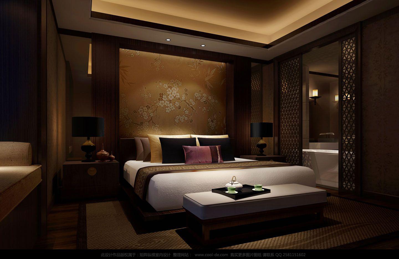 卧室图片来自武汉欣绿康装饰-在中式的分享