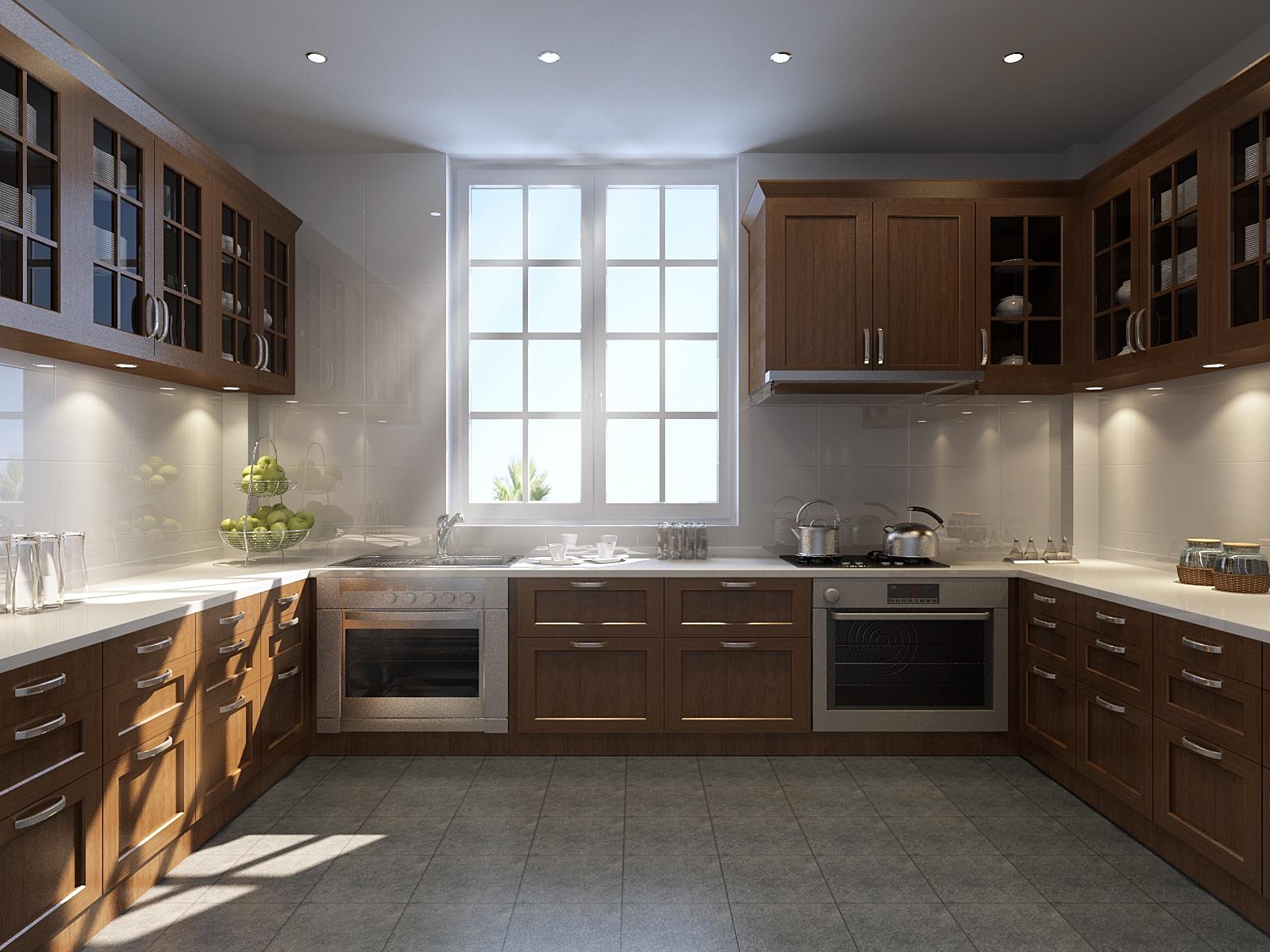 厨房图片来自武汉欣绿康装饰-在中式的分享