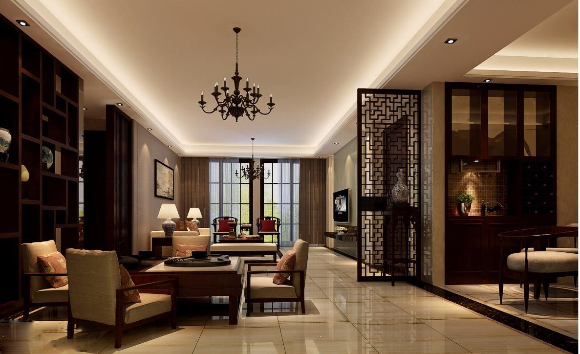 客厅图片来自武汉欣绿康装饰-在中式的分享