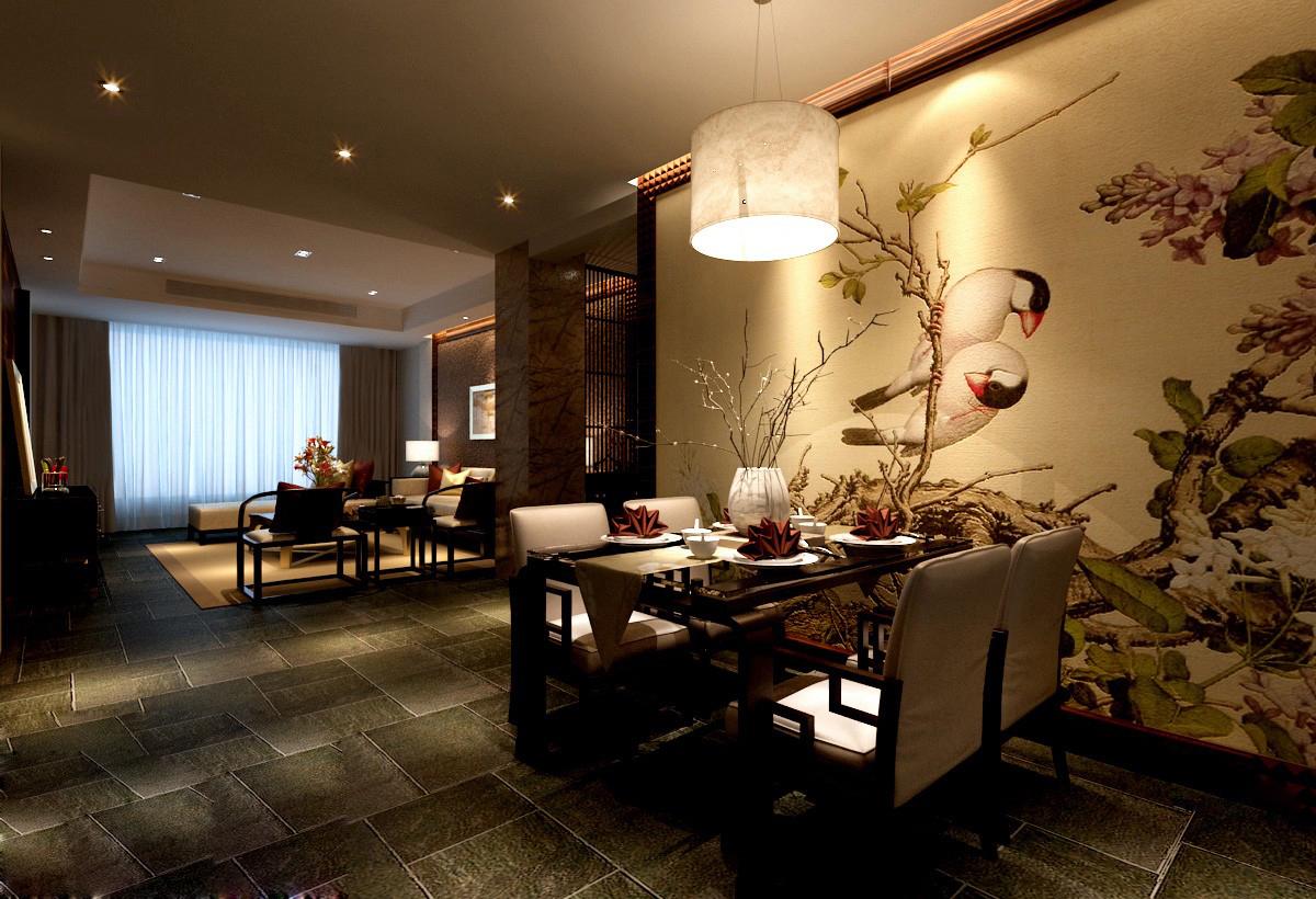 餐厅图片来自武汉欣绿康装饰-在中式的分享