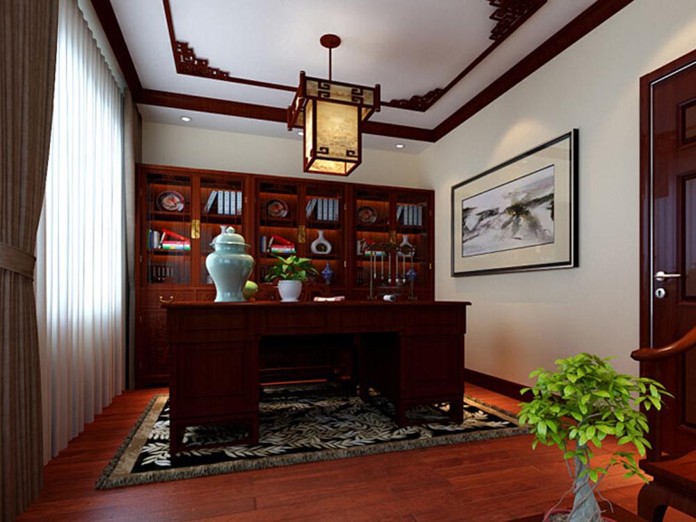 白领 收纳 四居 中式 书房图片来自tjsczs88在天伦之乐的分享