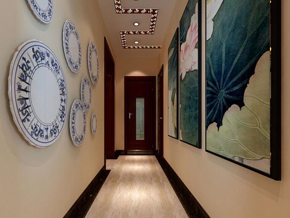 白领 收纳 四居 中式 玄关图片来自tjsczs88在天伦之乐的分享