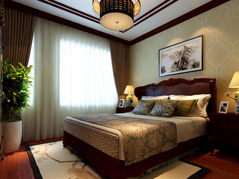 白领 收纳 四居 中式 卧室图片来自tjsczs88在天伦之乐的分享