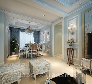 平层西式新古典装修