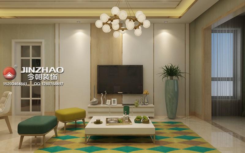 二居 客厅图片来自152xxxx4841在天泰玉泽园84平现代风格的分享