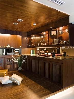 中式 三居 白领 收纳 小资 厨房图片来自沙漠雪雨在110平米中式品味夜上海复古韵味的分享