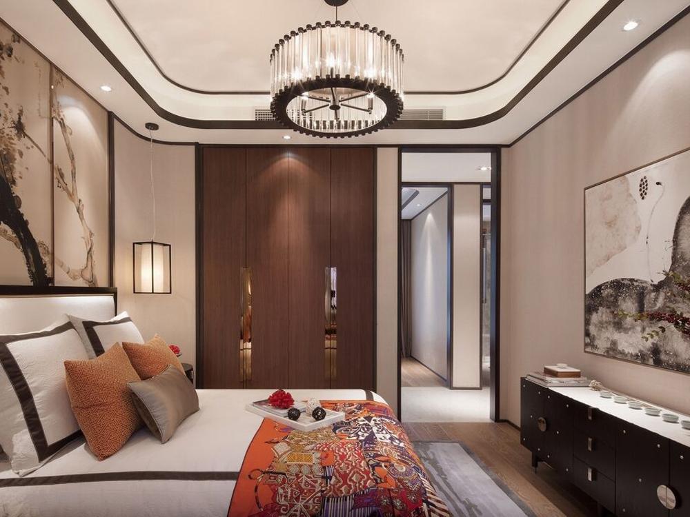 三居 中式 白领 收纳 卧室图片来自tjsczs88在阡陌的分享