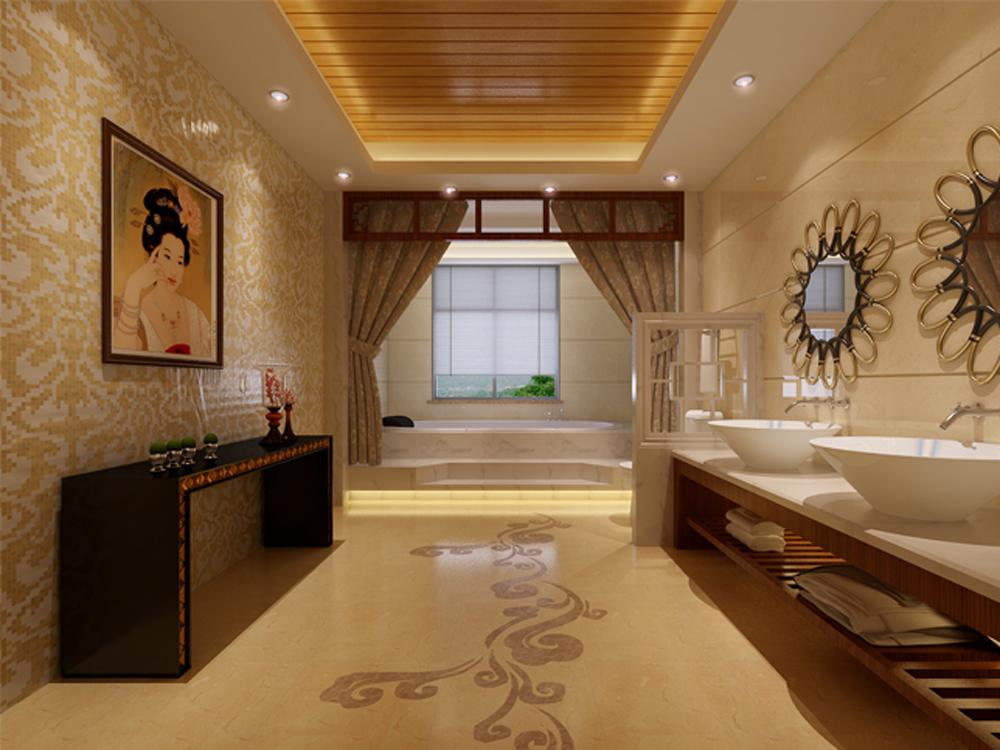 三居 中式 卫生间图片来自tjsczs88在温馨静雅的分享
