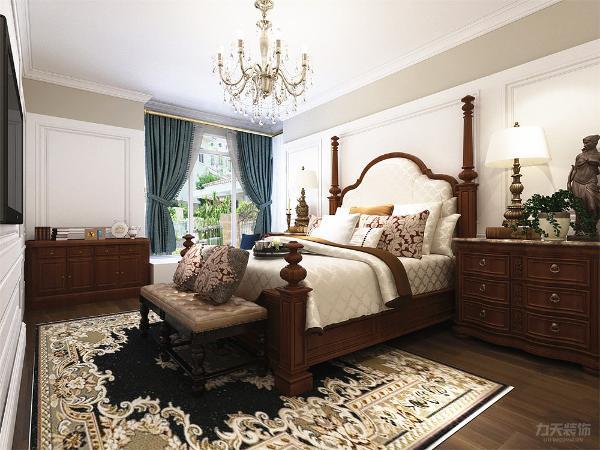 卧室的设计,在你家具的选择上还是选用自然的木色,遵从于自然,自由随意、简洁怀旧、实用舒适。