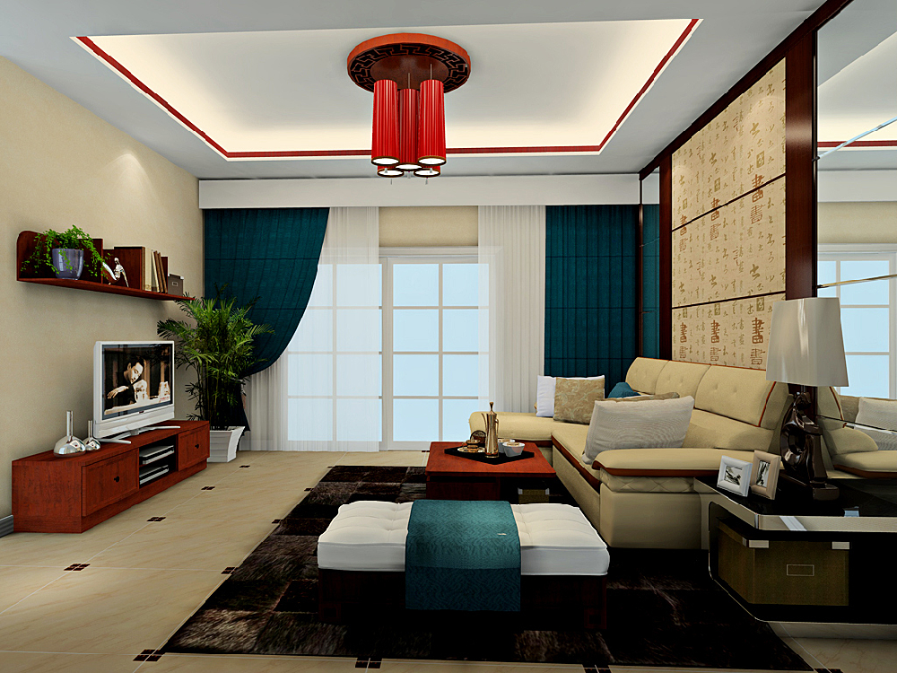 三居 中式 客厅图片来自tjsczs88在温馨静雅新中式的分享
