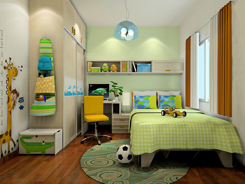 三居 中式 儿童房图片来自tjsczs88在温馨静雅新中式的分享
