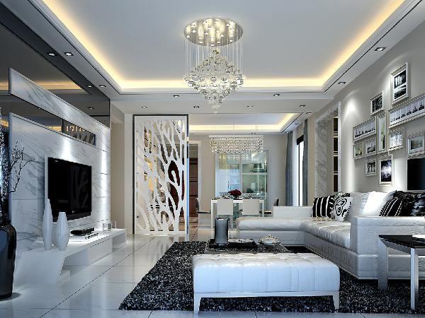 设计师以简洁明快的设计风格为主调,全面考虑,在总体布局方面,尽量满足生活上的需求,创造一个温馨,健康的现代家庭环境.
