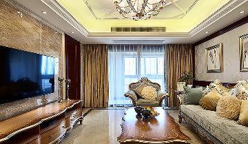 稳重十足 120平新古典雅致3居室