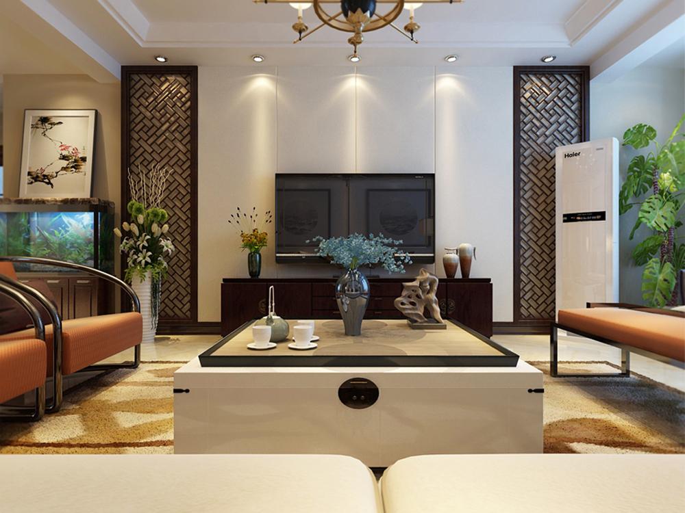 三居 白领 收纳 小资 中式 客厅图片来自tjsczs88在清雅悦静的分享