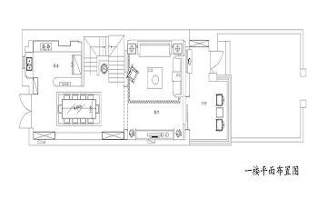 260平别墅装修设计,玲珑台中式
