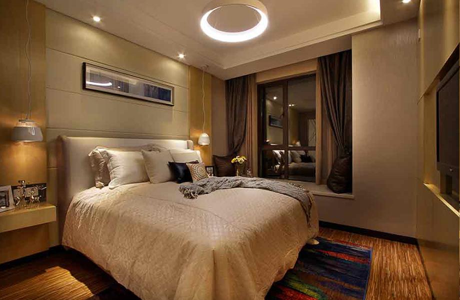 简约 二居 三居 白领 收纳 旧房改造 80后 小资 卧室图片来自北京今朝装饰-慧琳在百子湾家园98平米现代简约的分享