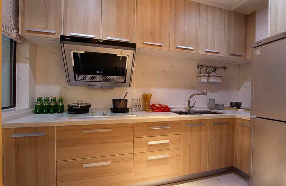 简约 二居 三居 白领 收纳 旧房改造 80后 小资 厨房图片来自北京今朝装饰-慧琳在百子湾家园98平米现代简约的分享