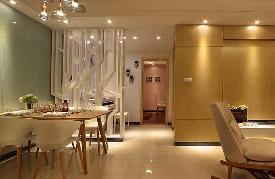 简约 二居 三居 白领 收纳 旧房改造 80后 小资 餐厅图片来自北京今朝装饰-慧琳在百子湾家园98平米现代简约的分享