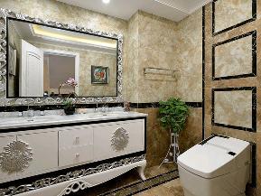 别墅 白领 收纳 旧房改造 新古典 卫生间图片来自tjsczs88在古典家园的分享