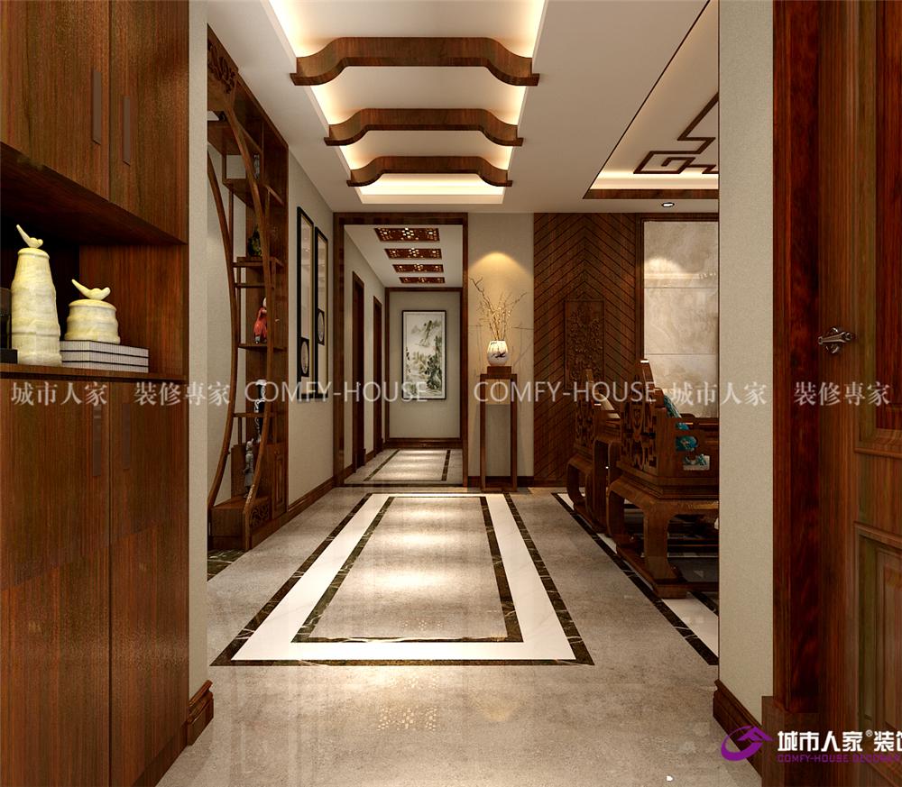 翡翠外滩 装修图片来自济南城市人家装修公司-在翡翠外滩180平四室两厅中式风格的分享