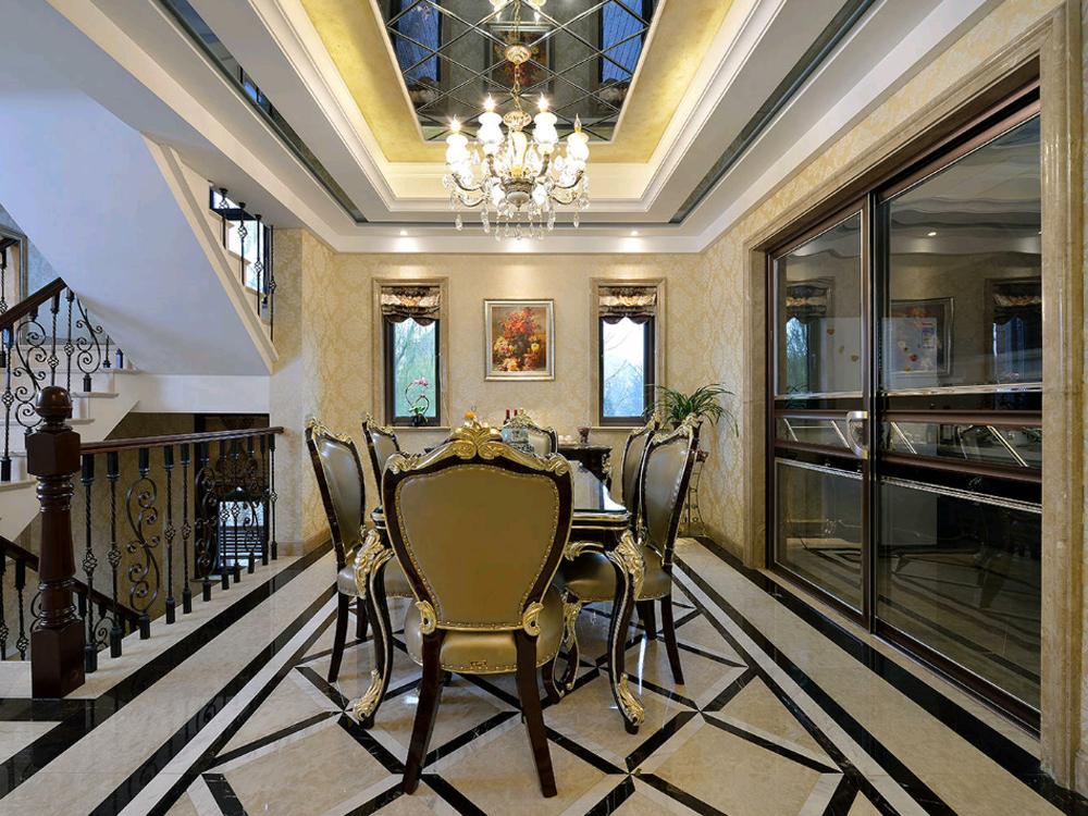 别墅 白领 收纳 旧房改造 新古典 餐厅图片来自tjsczs88在古典家园的分享