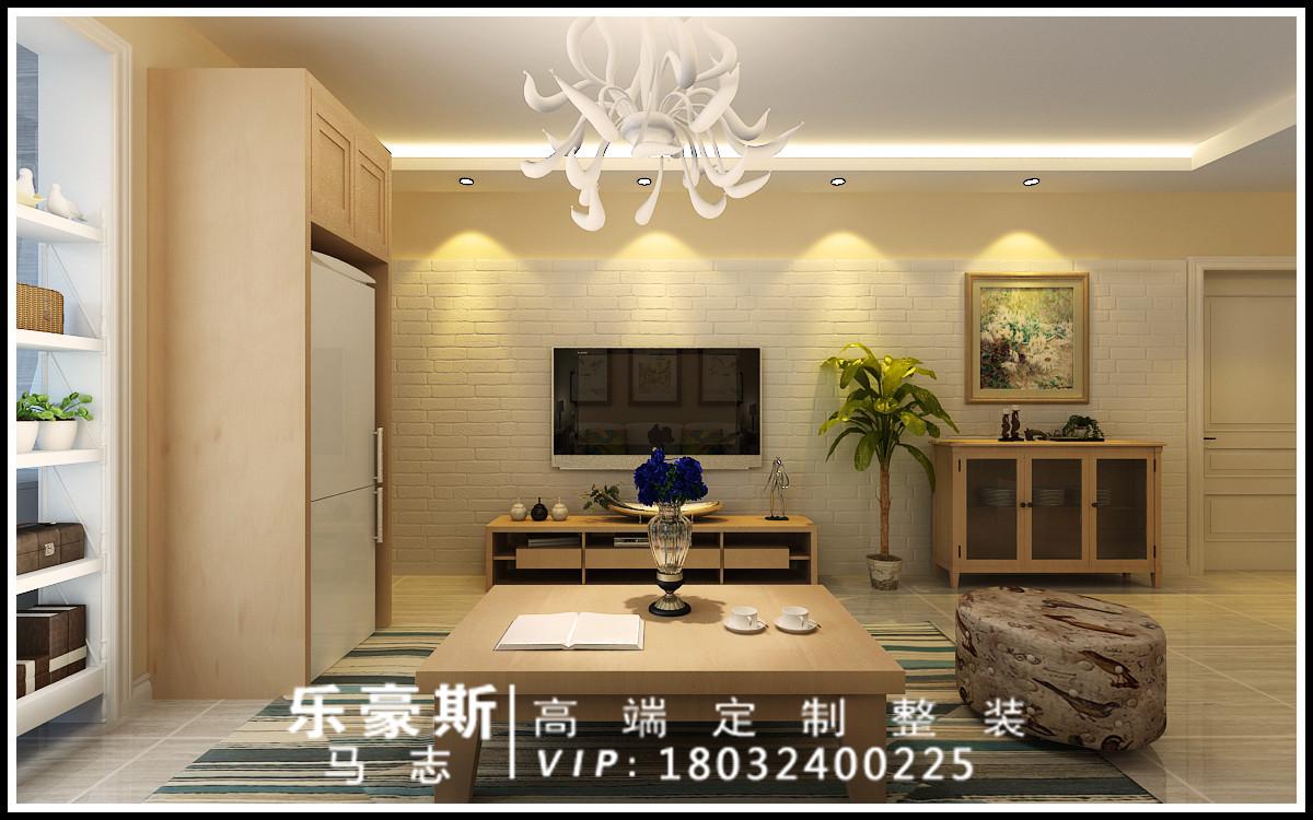 简约 客厅图片来自乐豪斯装饰马志在中基礼域两室现代简约装修效果图的分享