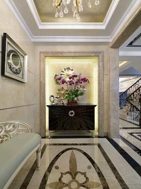 别墅 白领 收纳 旧房改造 新古典 玄关图片来自tjsczs88在古典家园的分享