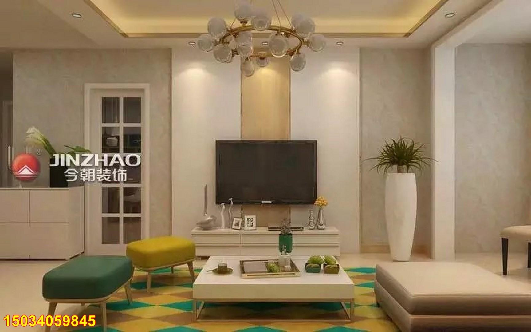 简约 三居图片来自太原今朝装饰陈鑫磊在太原保利香槟国际96现代风格装修的分享