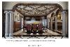 大气的罗马柱雅致欧式的餐桌,此处展现的线条之美是那样的极雅。