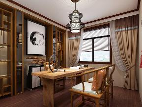 白领 收纳 80后 中式 四居 奢华 书房图片来自tjsczs88在禅语书香的分享