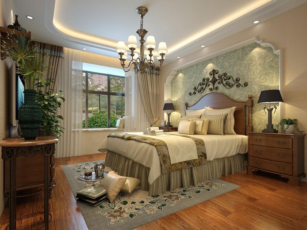别墅 旧房改造 80后 美式 奢华 卧室图片来自tjsczs88在春天的故事的分享