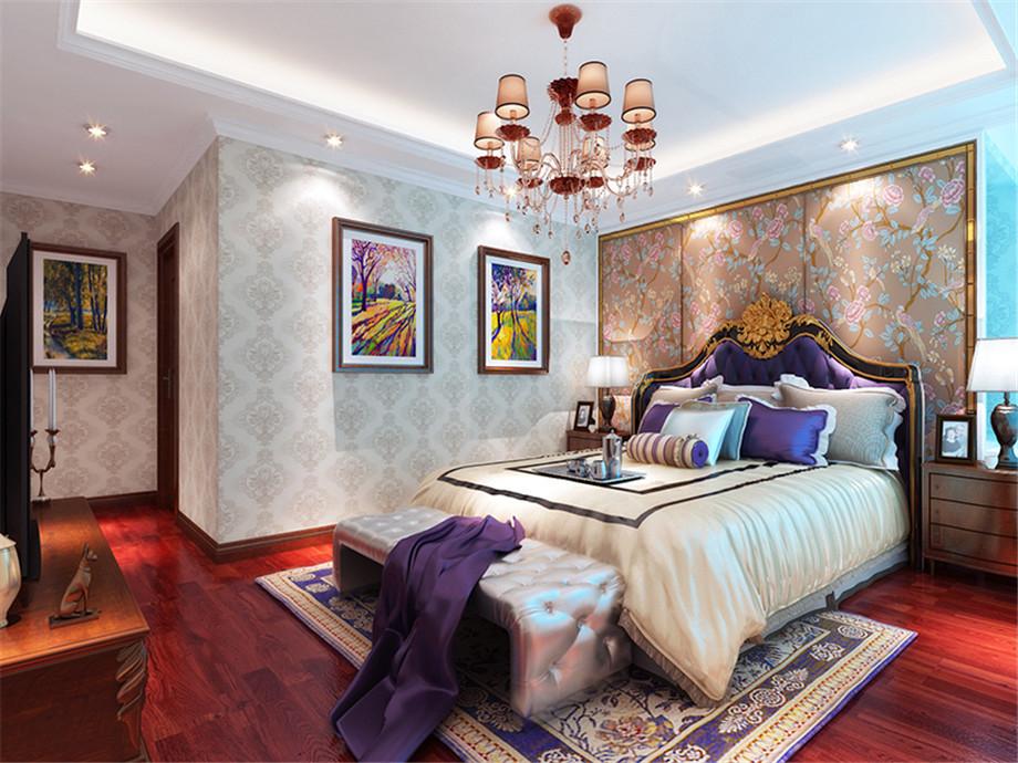 新古典 三居 收纳 旧房改造 80后 卧室图片来自tjsczs88在古典与时尚的分享