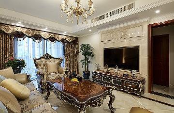 尊贵优雅 145平新古典高雅3居室
