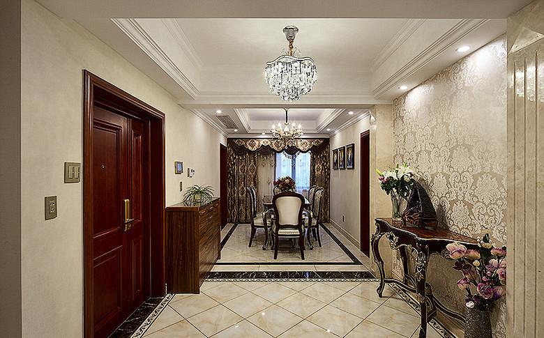 餐厅图片来自家装大管家在尊贵优雅 145平新古典高雅3居室的分享