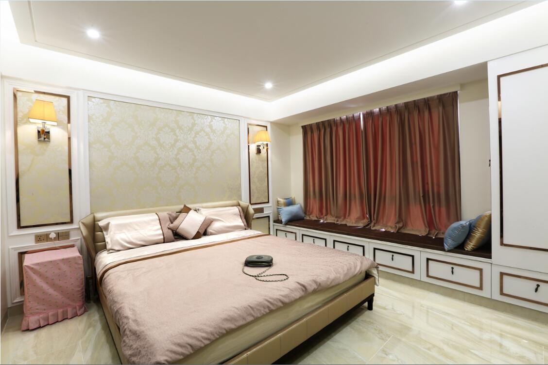 时尚 中式 品味 奢华 多居室 卧室图片来自沐  熙在诗意东方的分享
