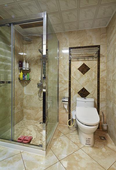 卫生间图片来自家装大管家在尊贵优雅 145平新古典高雅3居室的分享