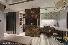 一居 简约 收纳 新古典 客厅图片来自幸福空间在YOCICOの当新古典遇上工业风的分享