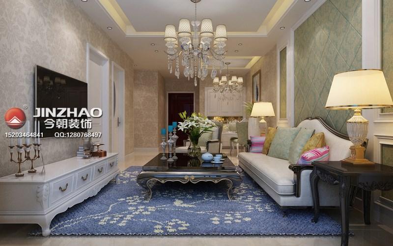 欧式 客厅图片来自152xxxx4841在【保利香槟国际】92平简欧的分享