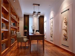 白领 收纳 旧房改造 三居 中式 书房图片来自tjsczs88在澄明之境的分享