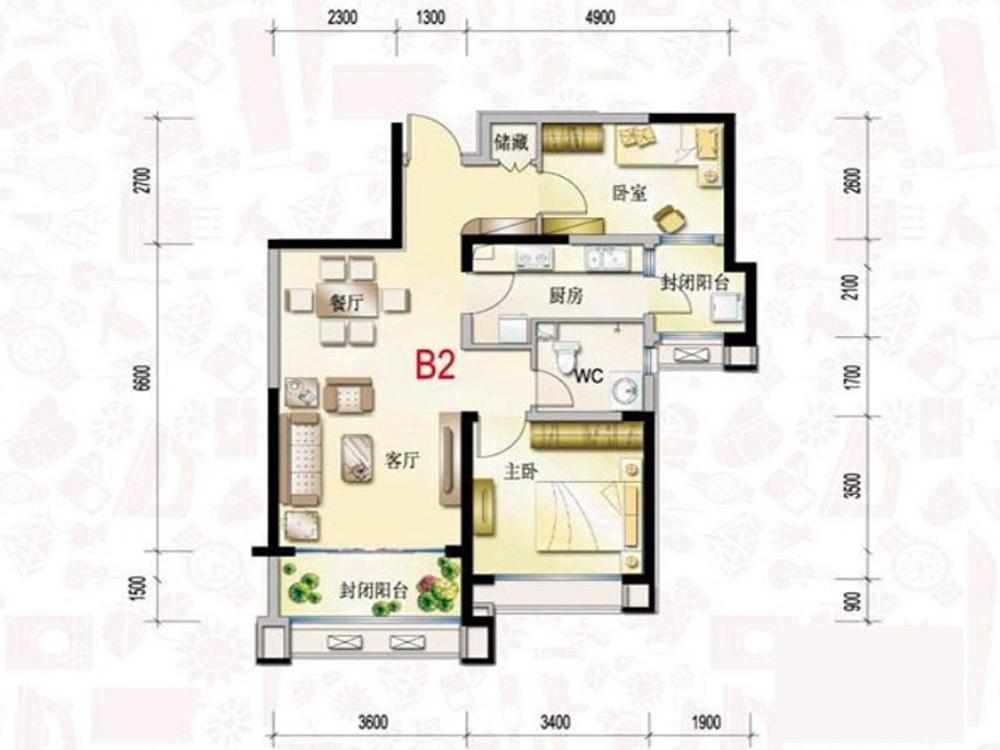 三居 收纳 旧房改造 时尚 户型图图片来自tjsczs88在峰汇的分享