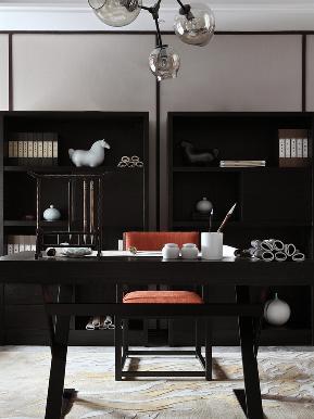 三居 收纳 旧房改造 白领 中式 书房图片来自tjsczs88在紫&鱼的分享