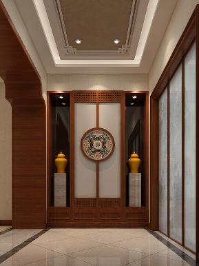 白领 收纳 旧房改造 中式 80后 玄关图片来自tjsczs88在凌波香颂的分享