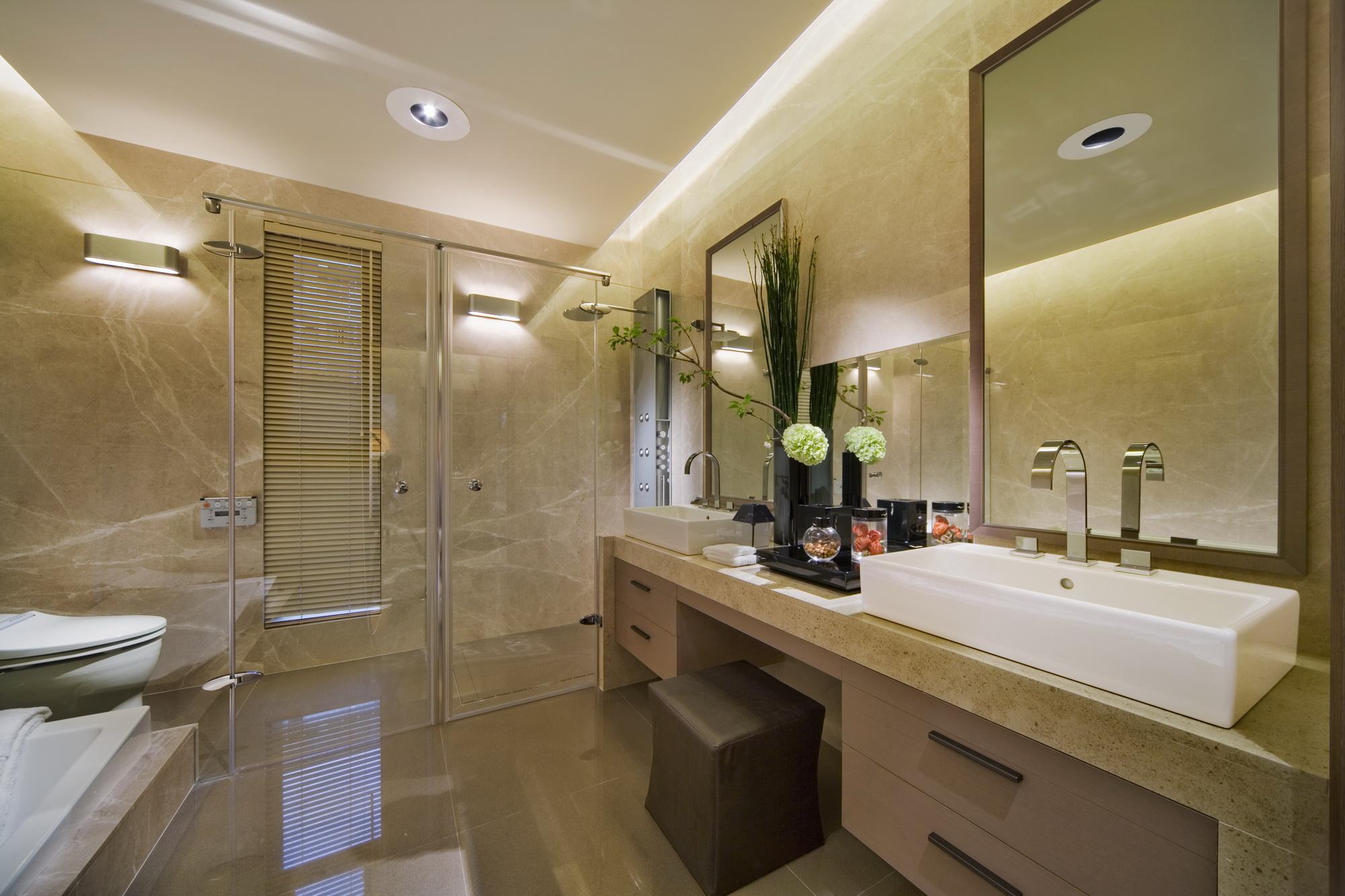卫生间图片来自广州九艺(三星)装饰设计在一品苑洪小姐雅居的分享