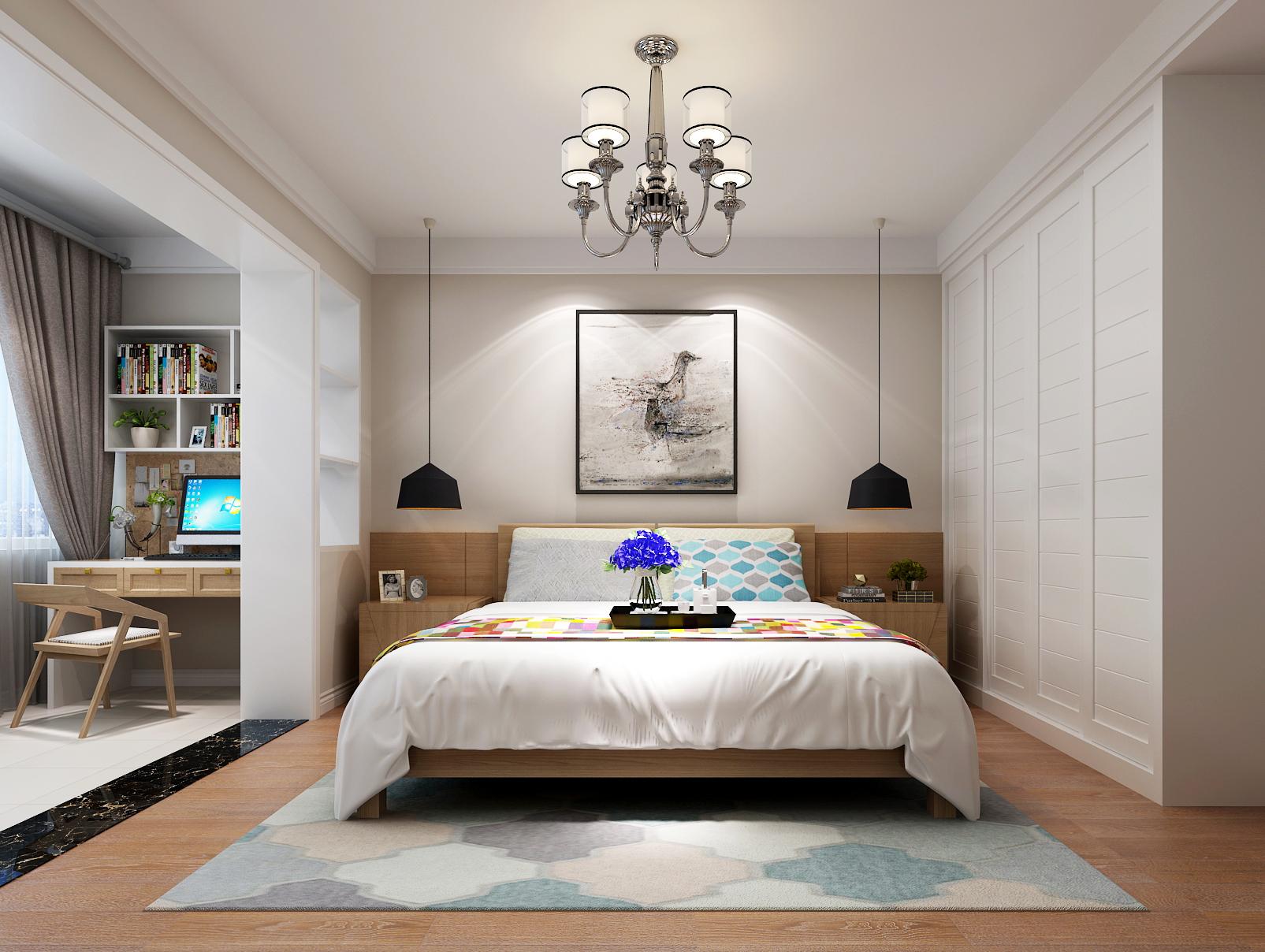 三居 北欧 生活家家居 拎包装 卧室图片来自青岛生活家家居科技有限公司在浮山花园-杨霞的分享